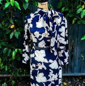 Stunning Vintage Liz Claiborne Silk Dress